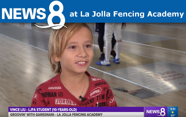 CBS News 8 at La Jolla Fencing Academy