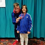 Diana with Coach Roman at SYC Denver, CO