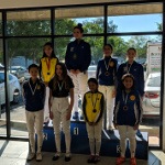 RYC Thousand Oaks, Sept 2018: Mash Gold Medal, Chase Bronze Medal