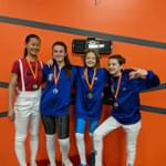 San Diego Cup 02/12/18 LJFA Athletes got gold, silver and bronze