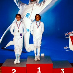 Kathie and Michelle: San Diego Epee Cup, April 29, 2018