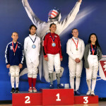 SAN DIEGO CUP, June 2019: Maia Peck Silver Medal, Y14 Epee