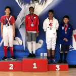 SAN DIEGO CUP, June 2019: Michael Thomas Bronze Medal, Y12 Epee