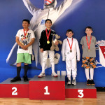 SAN DIEGO CUP, June 2019: Michael Thomas Silver Medal, Y10 Epee