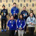 Top 8: Diana, Michelle. Portland Super Youth Circuit, February 2020