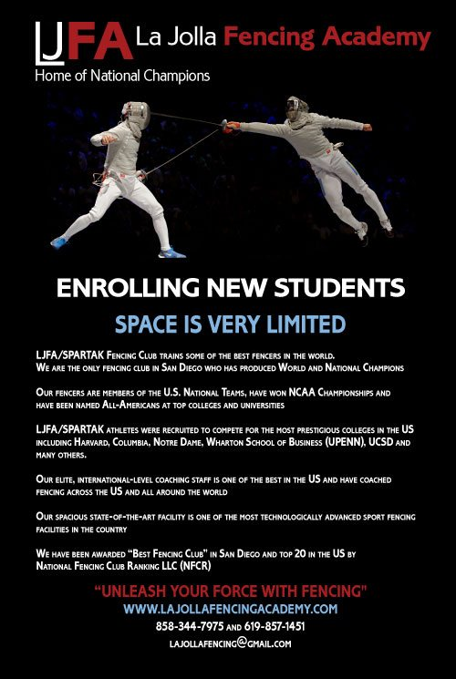 LJFA opening in late 2016 enrolling new students. Space is very limited